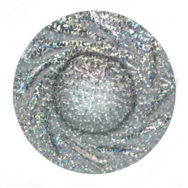 Pappteller Rund Silber Gaudi Acuario 350 mm (25 Stück)