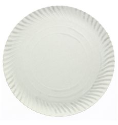 Pappteller Rund weiß 300 mm (100 Stück)