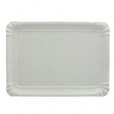 Pappschale rechteckig weiß 18x24cm (800 Stück)