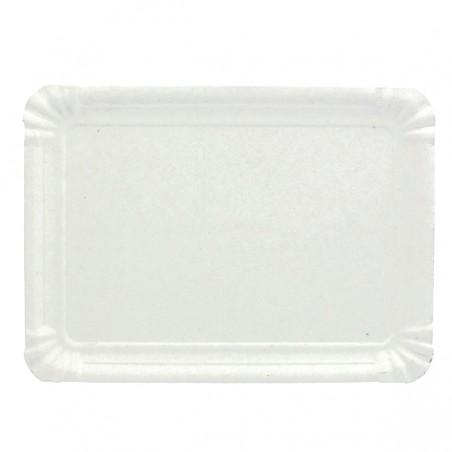 Pappschale rechteckig weiß 22x28cm (600 Stück)