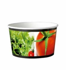 Salatschüssel aus Karton groß 1030ml (360 Stück)