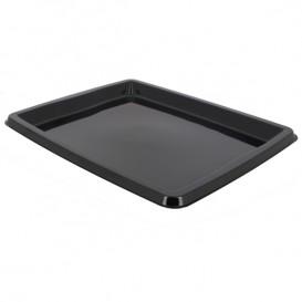 Plastikplatte rechteckig Schwarz 316x265x20mm (50 Stück)