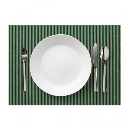 """Tischsets Wiederverwendbar """"Day Drap"""" Grüne Linie 32x45cm (12 Stück)"""