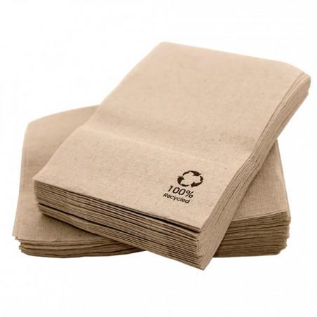 """Bio Spenderservietten Papier """"Recycled"""" 17x17cm (200 Stück)"""