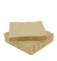 "Bio Papierservietten ""Recycled"" 33x33cm 1-lagig (100 Stück)"
