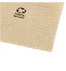 "Papierservietten Bio ""Recycled"" 40x40cm (50 Stück)"