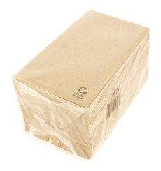 Papierservietten Bio 40x40cm 1/8 2-lagig (50 Stück)