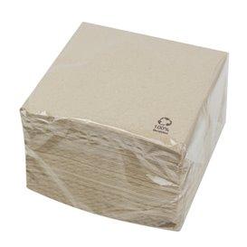 Bio Papierservietten 30x30cm 1-lagig (4.800 Stück)