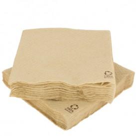 Bio Papierservietten 30x30cm 1-lagig (100 Stück)