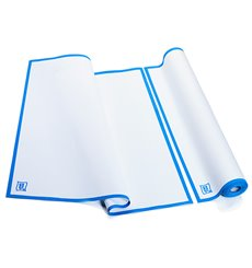 Weisses Küchenhandtuch mit Blauem Rand 52x64 cm P52cm (200 Stück)