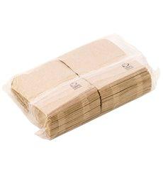 """Bio Spenderservietten Papier """"Miniservis"""" Kraft 17x17cm (200 Stück)"""
