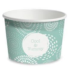 Pappbecher für Eis Cool&Yummy 9oz/260ml (55 Stück)