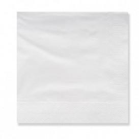 Papierservietten weiß 20x20cm 3-lagig (100 Stück)