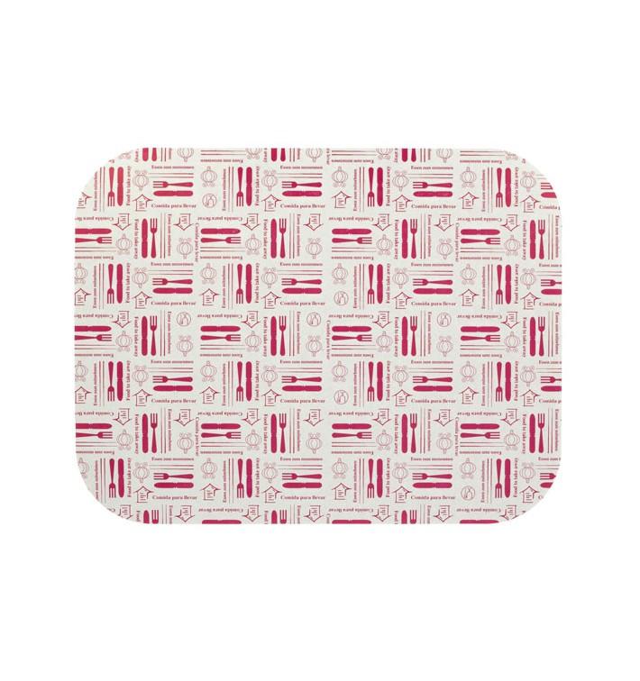 Deckel für Aluschalen 1.180ml (600 Stück)
