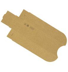 Hot-Dog Schachtel Kraft 17x5x3,5cm (1.000 Stück)