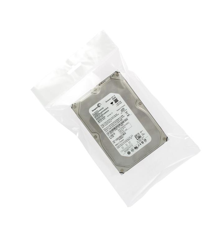 Flachbeutel BOPP Falte Klebstoff mit Euro-Loch 8x12cm G160 (100 Stück)