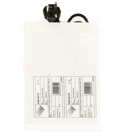 Druckverschlussbeutel mit Tasche 16x22+20cm G200 (1000 Stück)