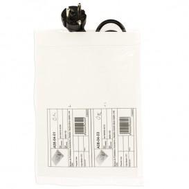 Druckverschlussbeutel mit Tasche 18x22,5+20cm G200 (100 Stück)