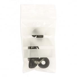 Druckverschlussbeutel mit Beschriftungsfeldern 4x6cm G200 (100 Stück)