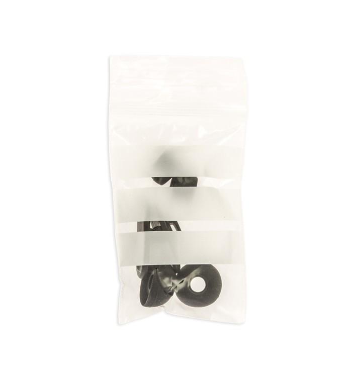 Druckverschlussbeutel mit Beschriftungsfeldern 6x8cm G200 (100 Stück)