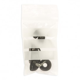 Druckverschlussbeutel mit Beschriftungsfeldern 7x10cm G200 (100 Stück)