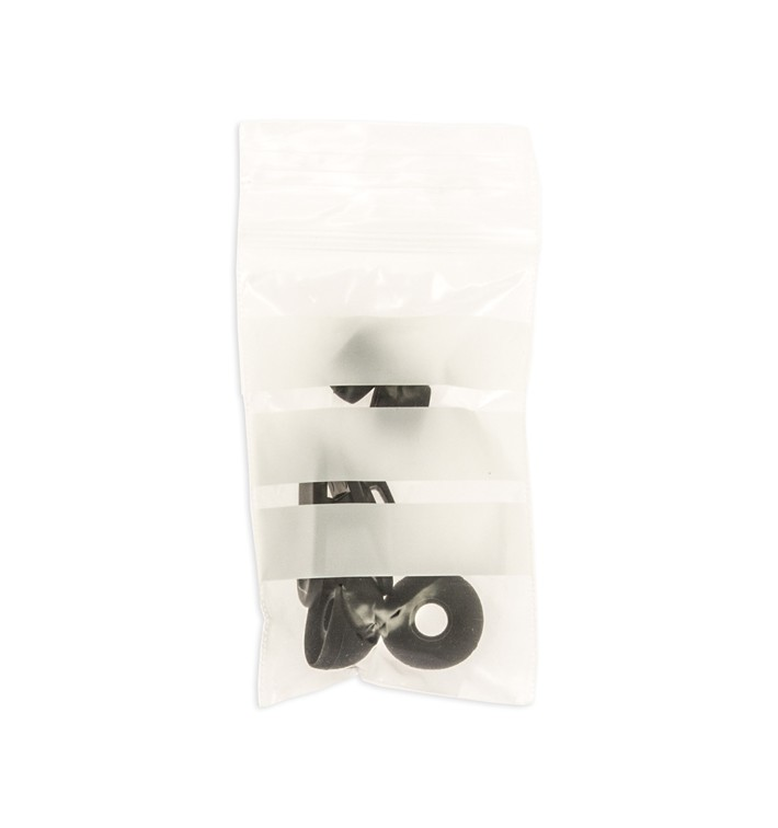 Druckverschlussbeutel mit Beschriftungsfeldern 7x10cm G200 (1000 Stuck)