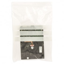 Druckverschlussbeutel mit Beschriftungsfeldern 18x25cm G200 (100 Stück)