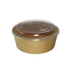 Suppenbecher To Go Kraft-Kraft Mit Deckel RPET 38 Oz/1120 ml (100 Stück)