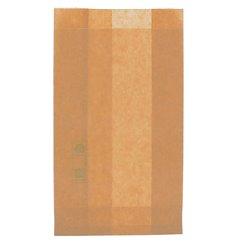 Burgerpapier fettdicht Kraft 12+6x20cm (250 Stück)