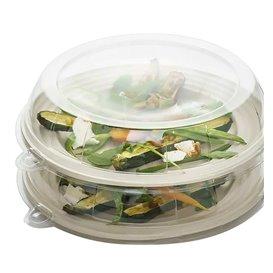 Plastikdeckel transparent für Teller 26x5cm (21 Stück)