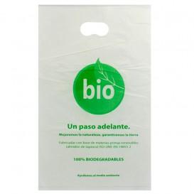 Plastiktüten mit Griffloch 100% bio-abbaubar 20x33cm (3000 Stück)