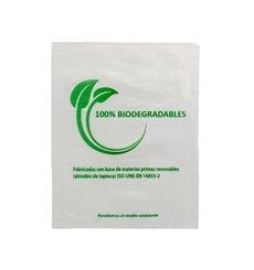 Flachbeutel Markt 100% bio-abbaubar 16x24cm (100 Stück)