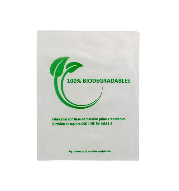 Flachbeutel Markt 100% bio-abbaubar 16x24cm (5000 Stück)