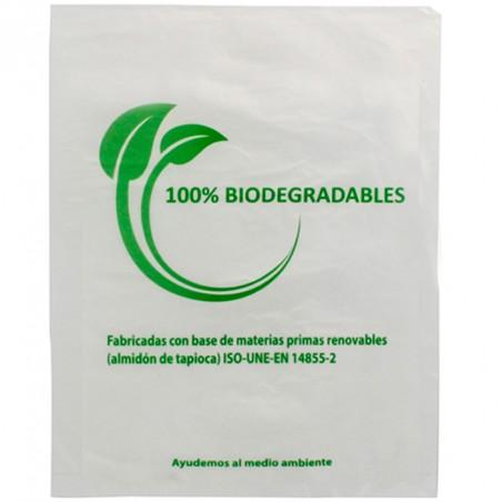 Flachbeutel Markt 100% bio-abbaubar 35x48cm (100 Stück)