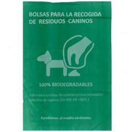 Plastiktüte für Hundekot 100% bio 20x33cm (3000 Stück)