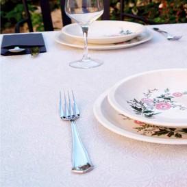 Tischdecke Non Woven PLUS Weiß 120x120cm (150 Stück)