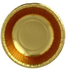 "Karton Schüssel ""Party"" Gold Ø160mm (90 Stück)"