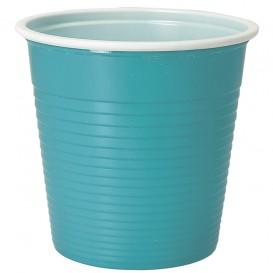 Plastikbecher Hellblau PS 230ml (690 Stück)