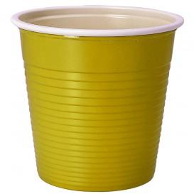 Plastikbecher Gelb PS 230ml (30 Stück)