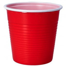 Plastikbecher Rot PS 230ml (690 Stück)