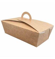 Lunchbox Kraft 131x131x115mm (25 Stück)