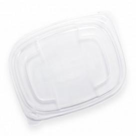 Deckel Transluzenten Plastikbehälter 800/1000ml 215x170x20mm (20 Stück)