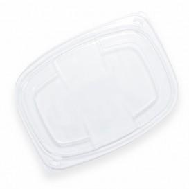 Deckel Transparent Plastikbehälter 1050/1250ml 255x189x20mm (20 Stück)