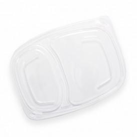 Deckel Transparent Plastikbehälter 2C 1050/1250ml 255x189x20mm (20 Stück)