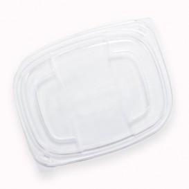 Deckel Transluzenten Plastikbehälter 250/350 und 450ml 142x111x20mm (20 Stück)