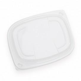 Deckel Transparent Plastikbehälter 800/1000ml 215x170x20mm (20 Stück)