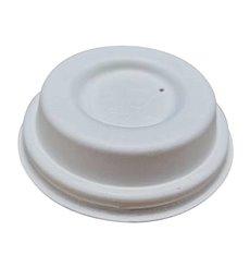 Deckel weiß Zuckerrohrloch Ø6,3cm (50 Stück)
