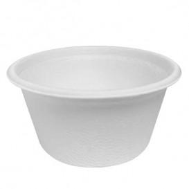 Soβenbecher aus Zuckerrohr Weiß 55ml (50 Stück)