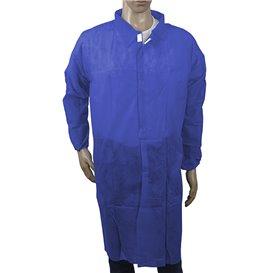 PP Schutzmäntel klettverschluss ohne Tasche Dunkelblau XL (1 Stück)