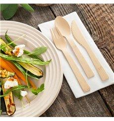 Messer aus Bambus 17cm (50 Stück)